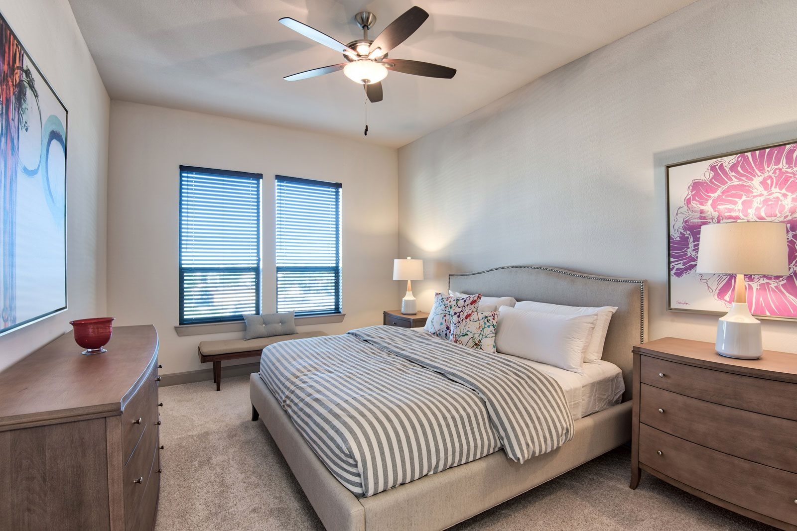 Contemporary Ceiling Fans Throughout at Midtown Houston by Windsor, 77002, Houston