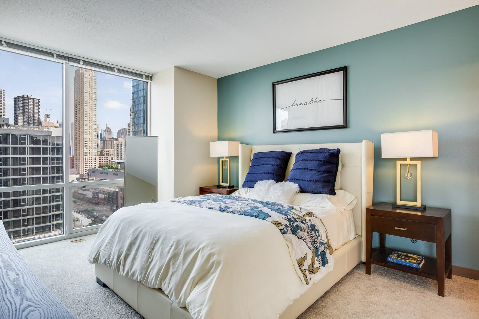 Spacious Bedrooms at Flair Tower, Chicago, 60654