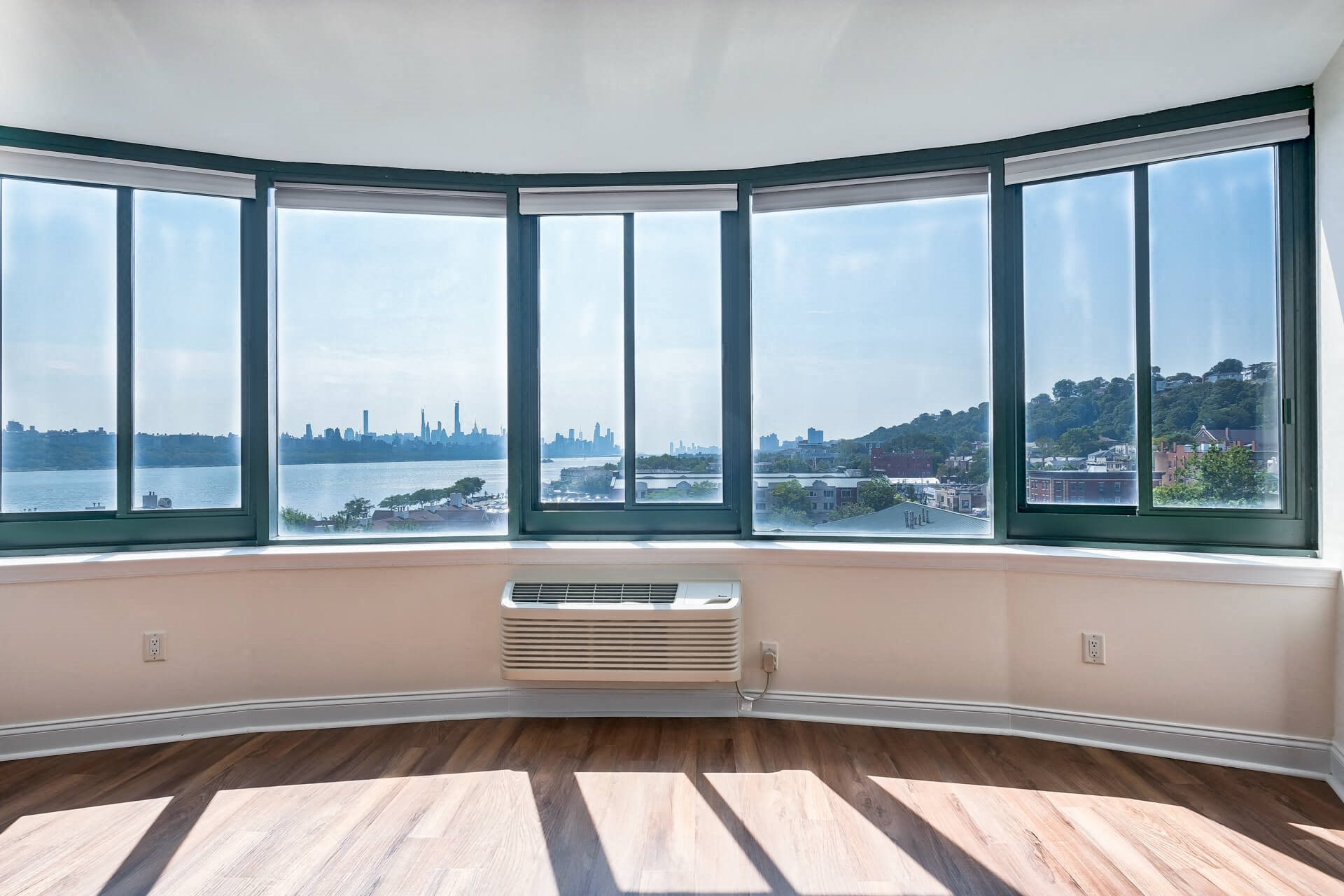 Panorama window with a stunning view at Windsor at Mariners, New Jersey, 07020