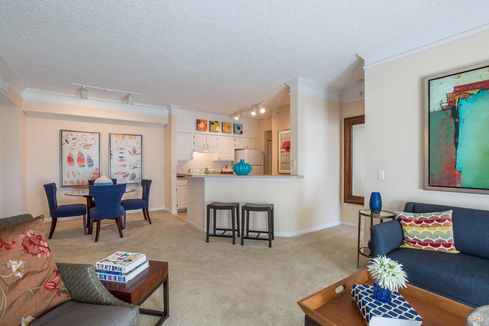 Plush Carpeting in Select Apartments at Windsor at Miramar, Miramar, Florida