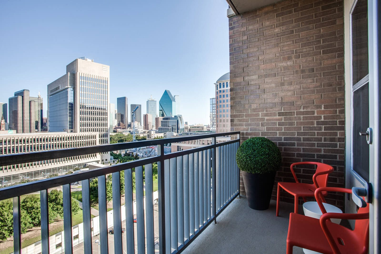 Stunning View on Balcony at The Jordan by Windsor, Texas, 75201