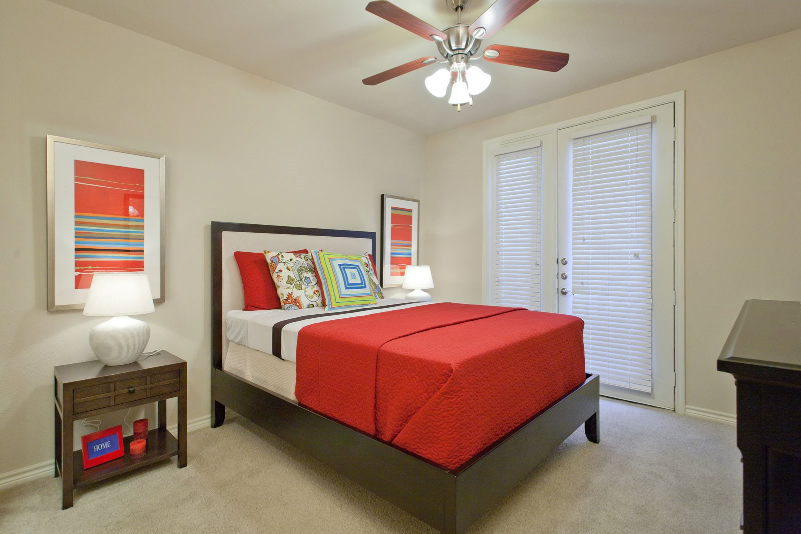 Bedrooms with Attached Patio/Balcony Available at Trianon by Windsor, Dallas, TX