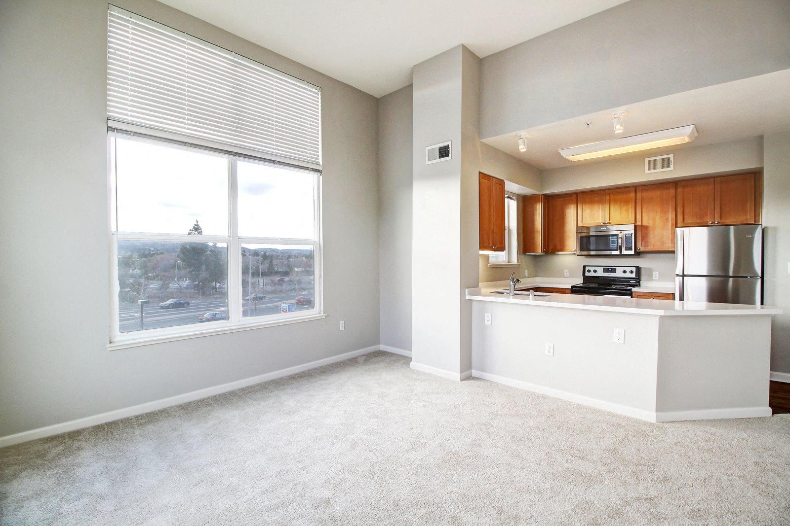 Open Floor Plans With kitchen islands at Villa Montanaro, California