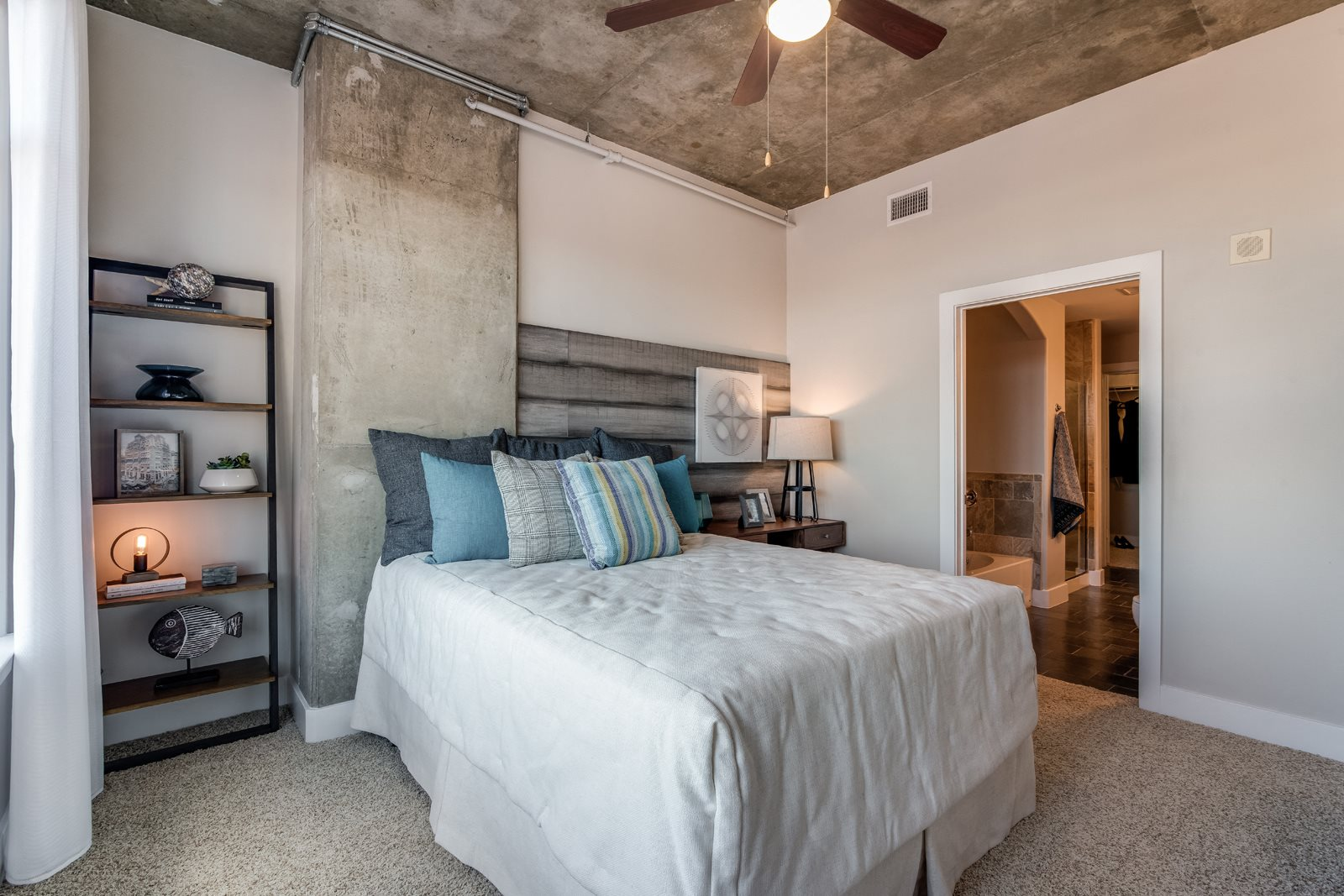 Attached Spacious Bathrooms at Crescent at Fells Point by Windsor, Baltimore, Maryland