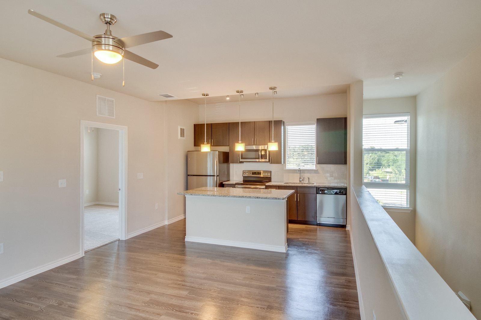 Contemporary Ceiling Fans Throughout at Windsor Republic Place, 5708 W Parmer Lane, Texas