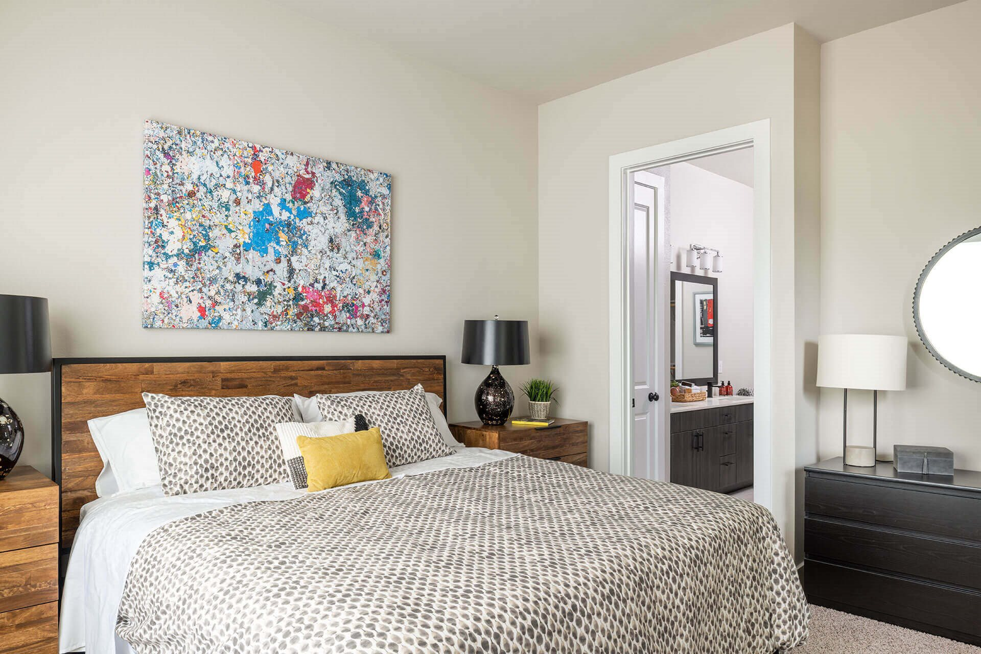 Spacious Bedrooms with Designer Carpeting at Windsor Burnet, Austin, 78758