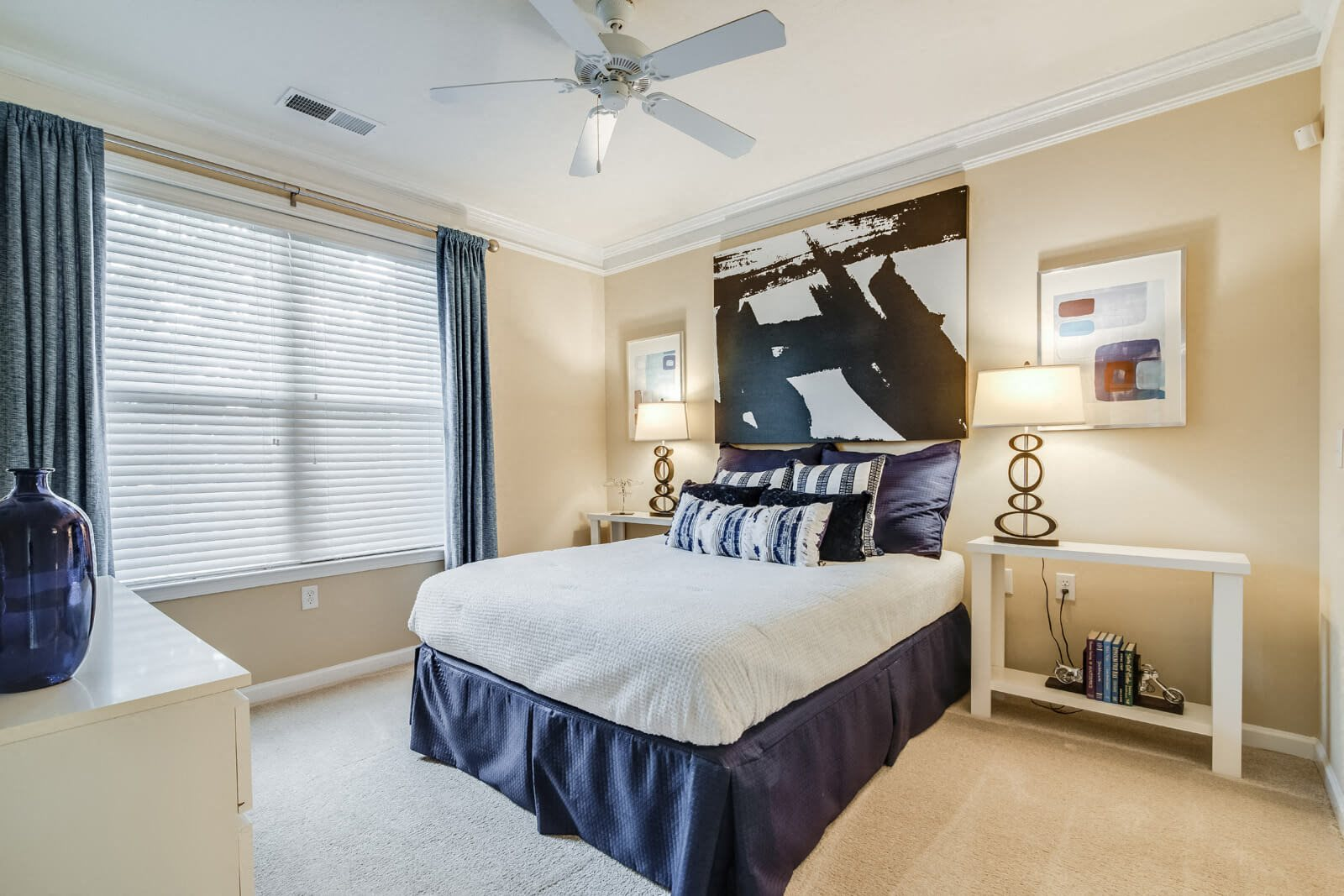 Contemporary Fans in Bedrooms at Windsor at Contee Crossing, 7810 Contee Road, MD