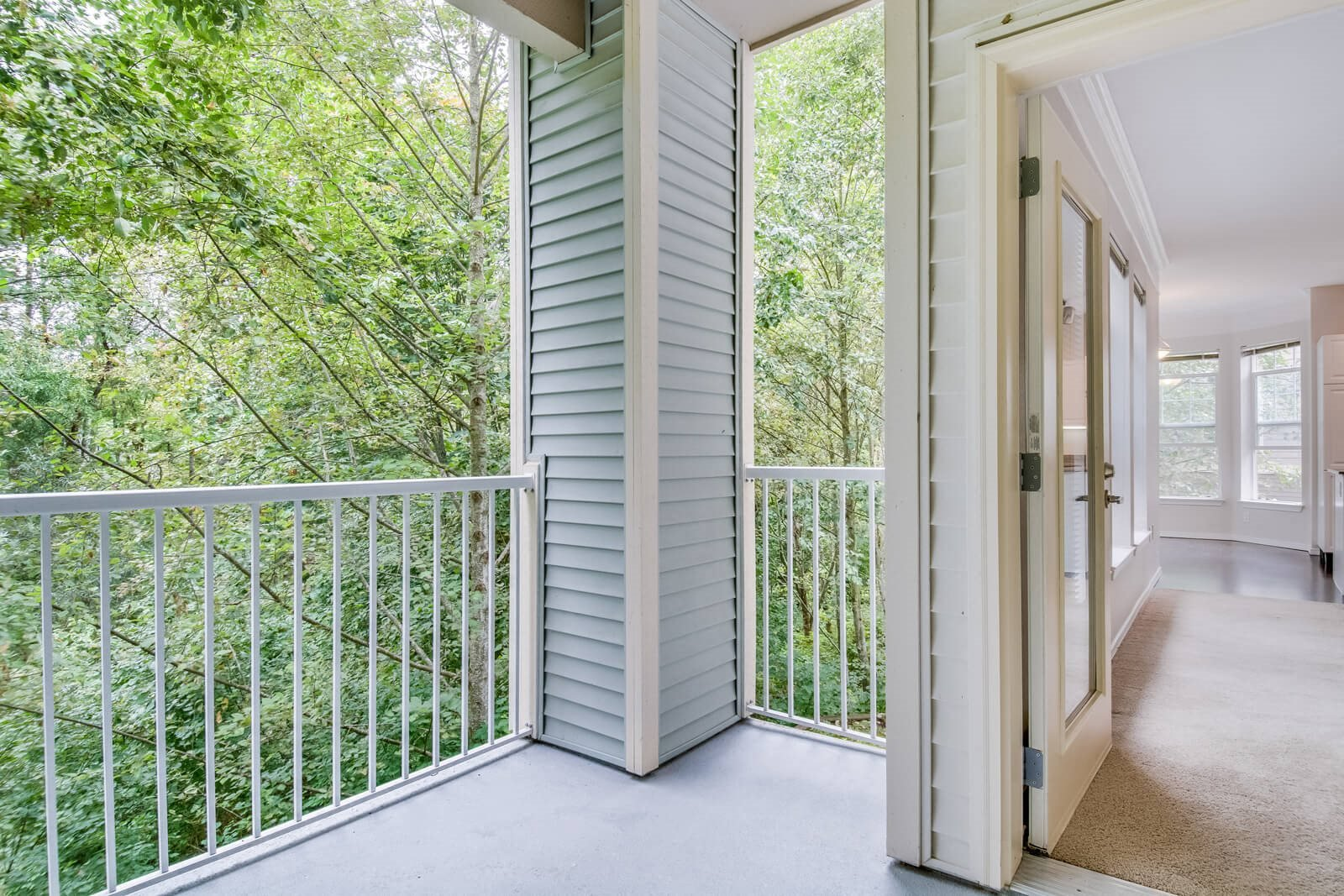 Relaxing Views from Balconies and Patios at The Estates at Cougar Mountain, Issaquah, 98027