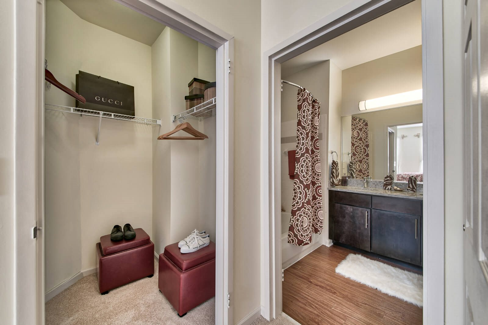 Roomy Walk-In and Reach-In Closets at Windsor at Liberty House, 115 Morris Street, Jersey City