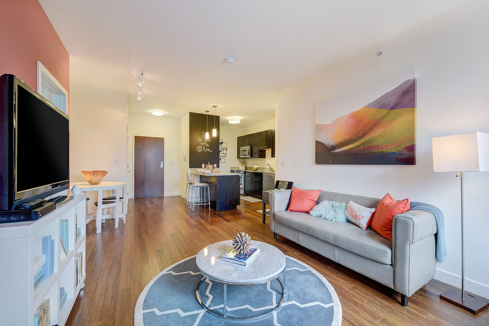 Open Layout Living Rooms at Windsor at Maxwells Green, 02144, MA