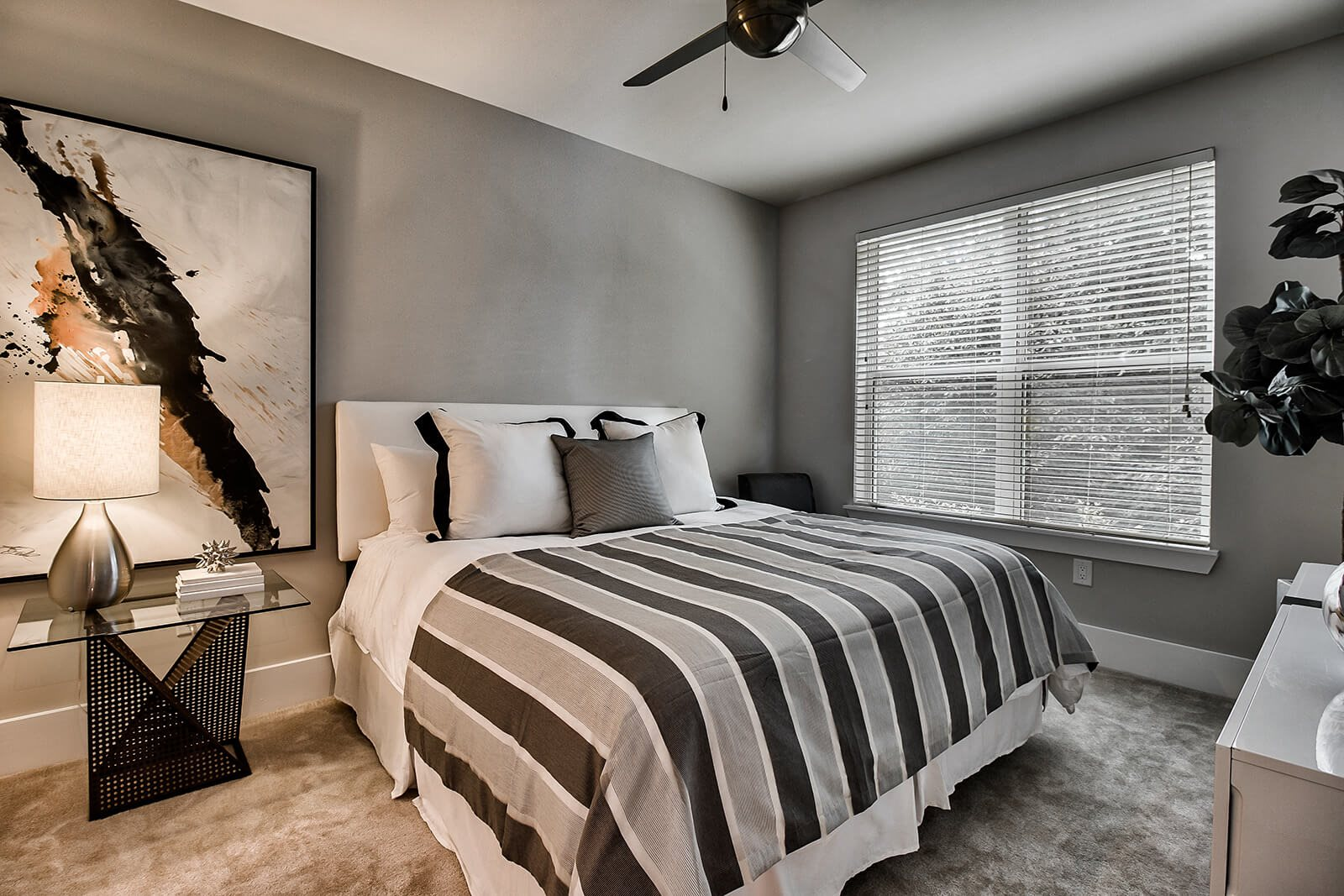 Contemporary Fans in All Bedrooms at Morningside Atlanta by Windsor, 30324, GA