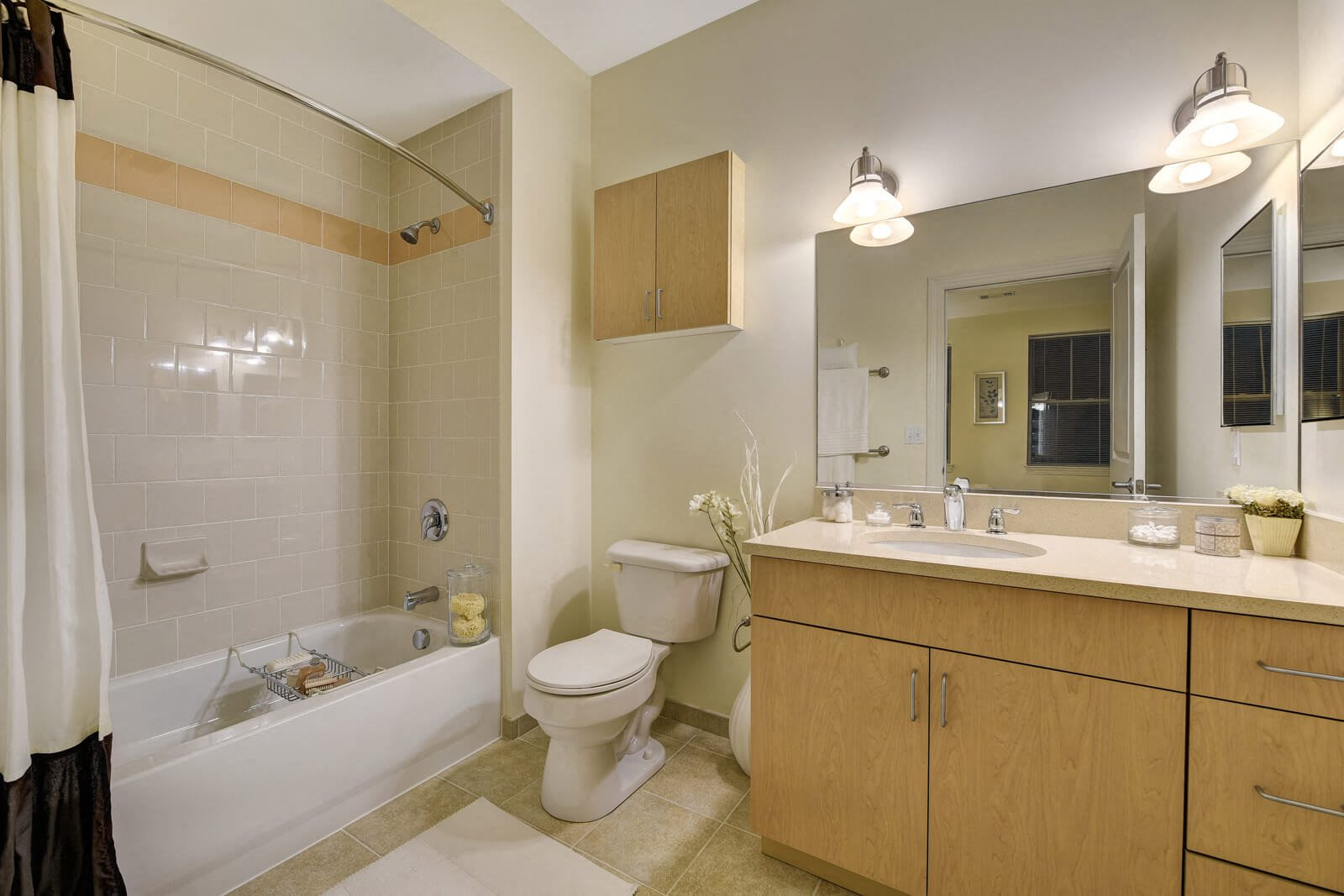 Spacious Bathrooms with Ample Storage at Windsor at Oak Grove, Melrose, MA