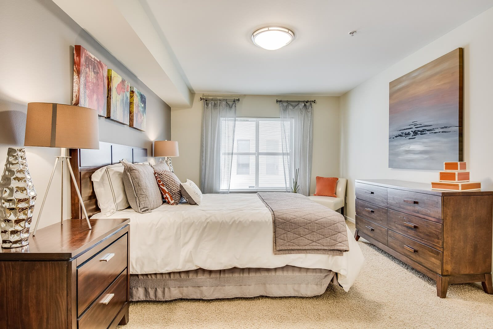 Spacious Bedrooms at Tera Apartments, Kirkland, 98033