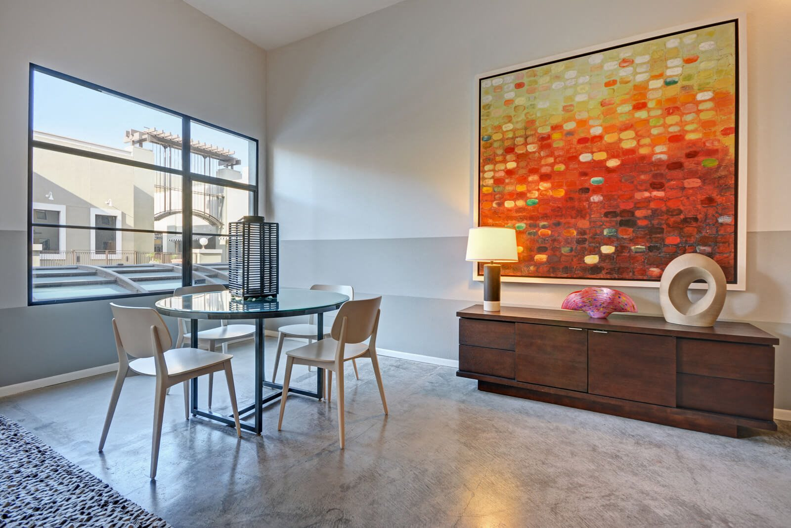 Expansive Windows Allow In Plenty Of Natural Light at Terraces at Paseo Colorado, California, 91101