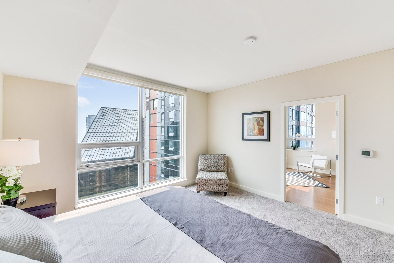 Expansive Penthouse Bedroom at The Martin, 98121, WA