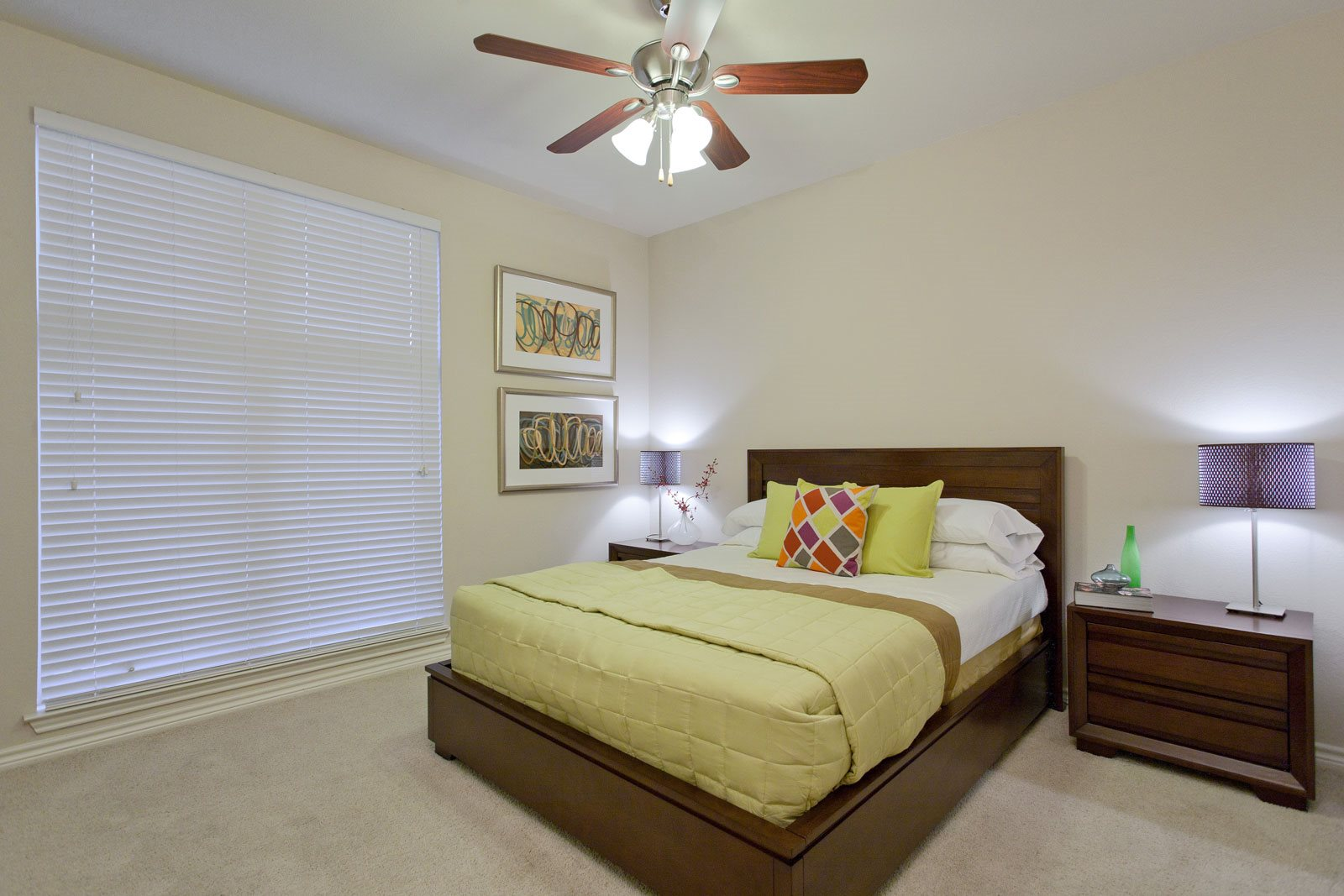 LED Lighted Ceiling Fan at Trianon by Windsor, Dallas, Texas