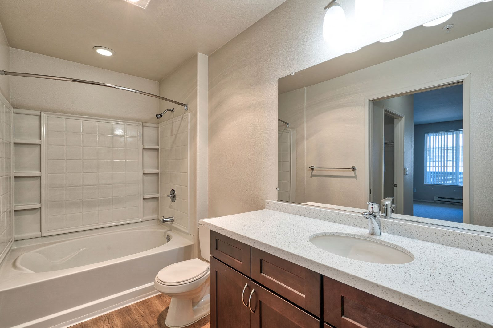 Renovated Bathrooms with Quartz Counters at Allegro at Jack London Square, 94607, CA