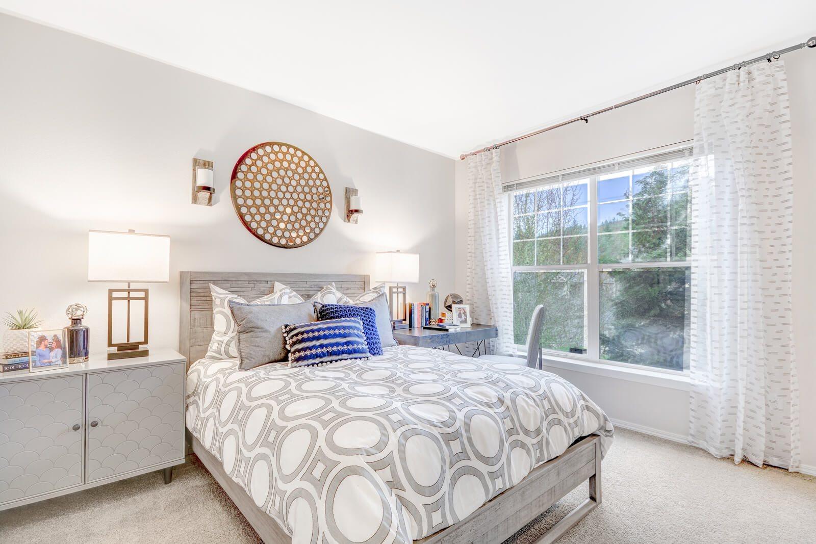 Sun Soaked Living Spaces at The Estates at Cougar Mountain, Washington, 98027