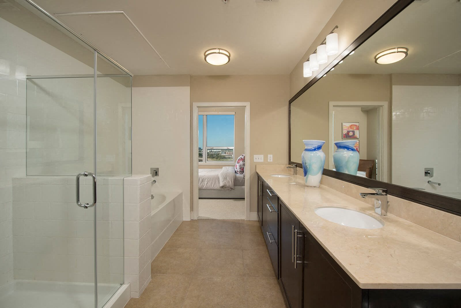 Spa-Inspired Bathrooms at Memorial by Windsor, Texas, 77007