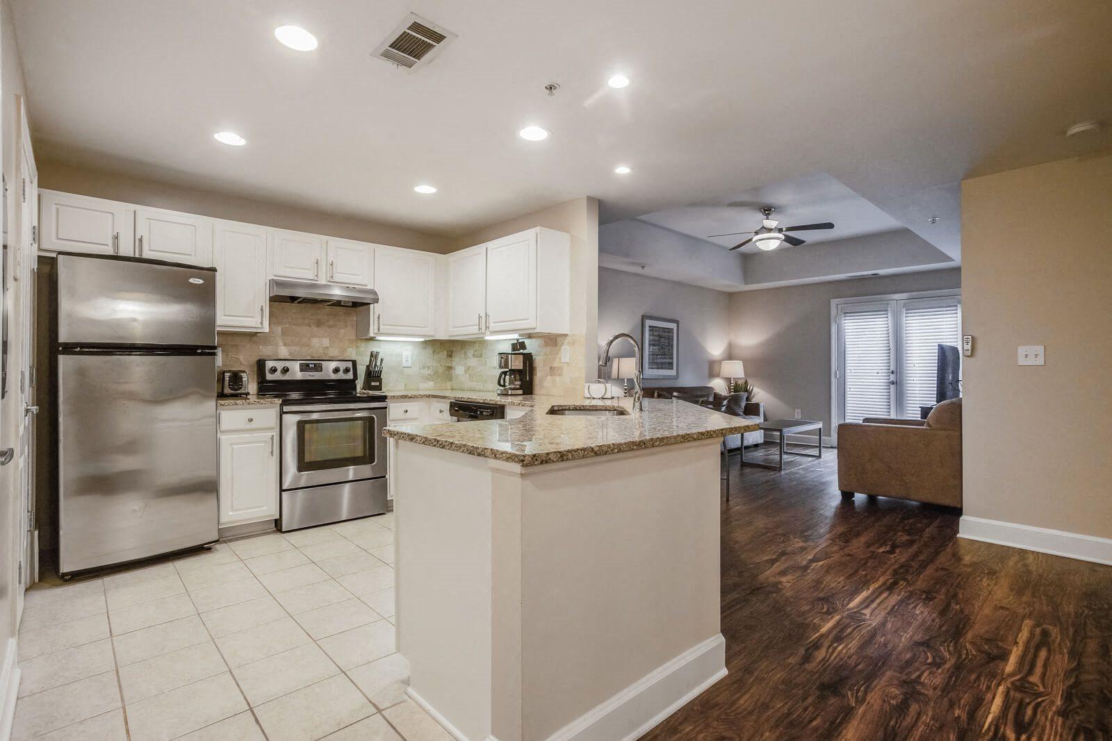 Granite Countertops at Windsor at Midtown, 222 14th Street NE, GA