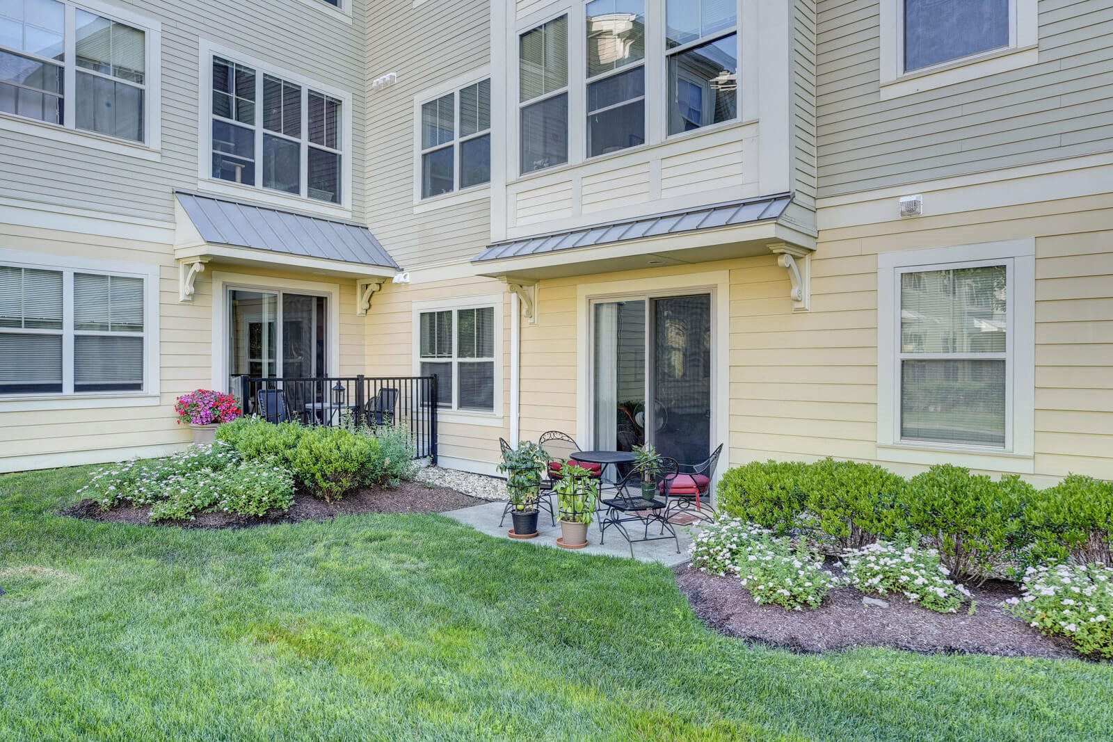 Patio/Balcony Available with Select Apartments at Windsor at Oak Grove, Melrose, Massachusetts
