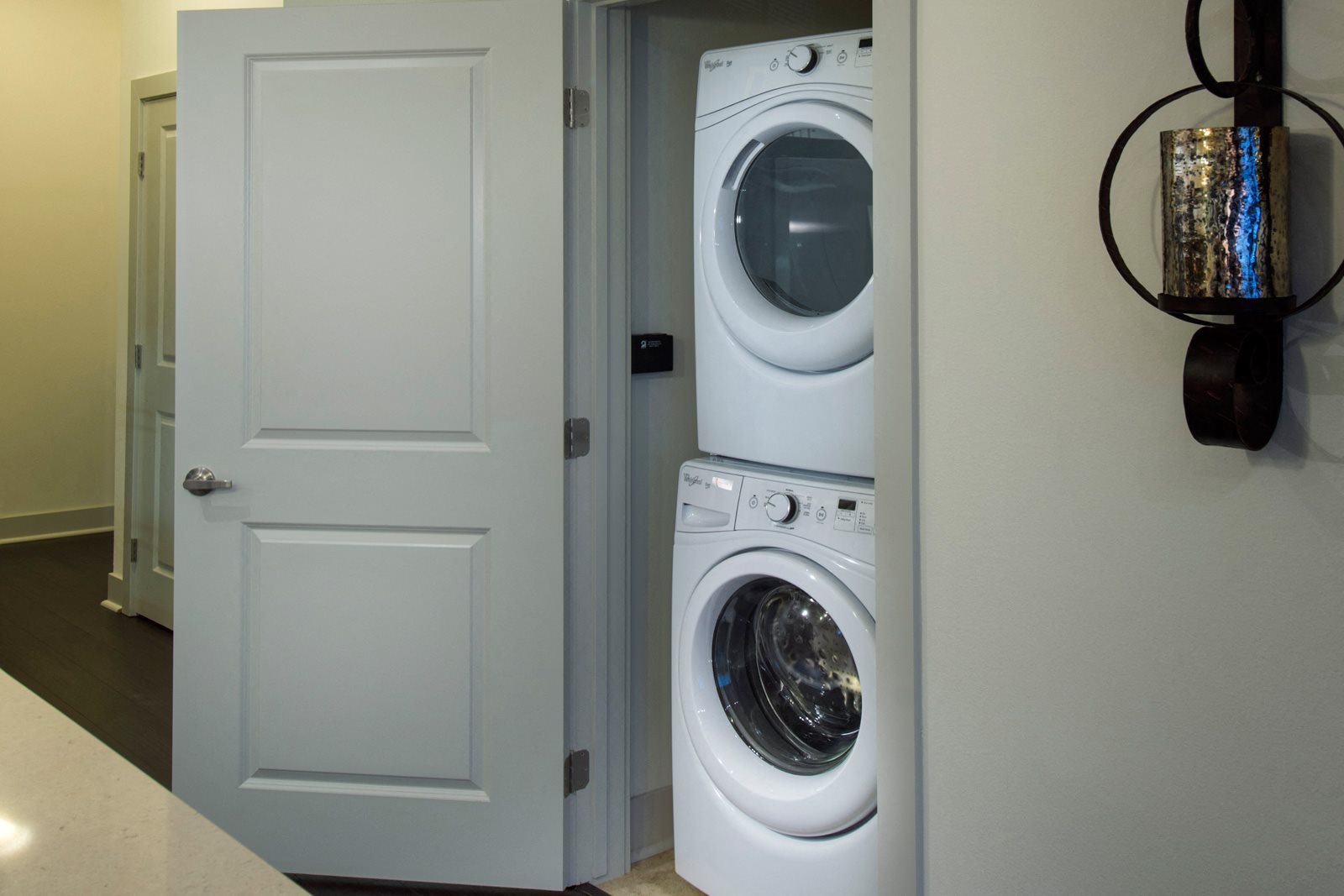 Energy Efficient, Full-Sized Washer and Dryer at Olympic by Windsor, 936 S. Olive St, Los Angeles
