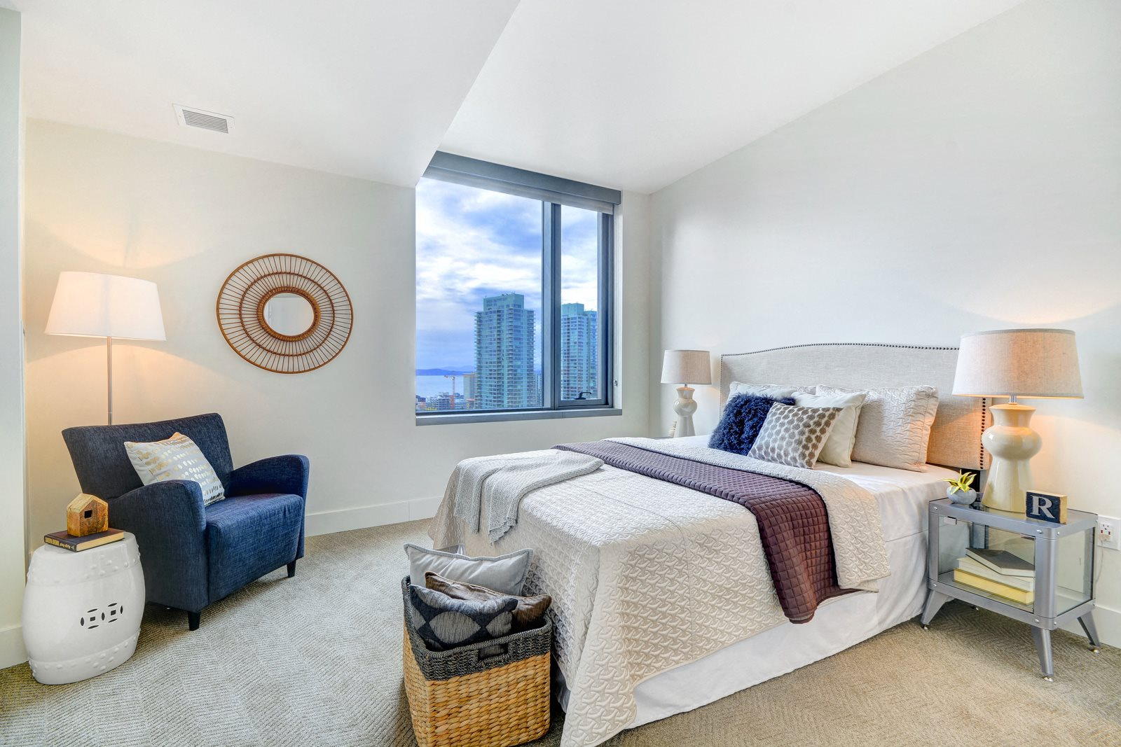 Cozy Bedrooms with a View at Stratus, 820 Lenora St., Seattle