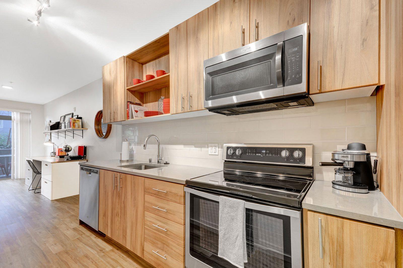 Abundant Cabinet Space at The Whittaker, 98116, WA