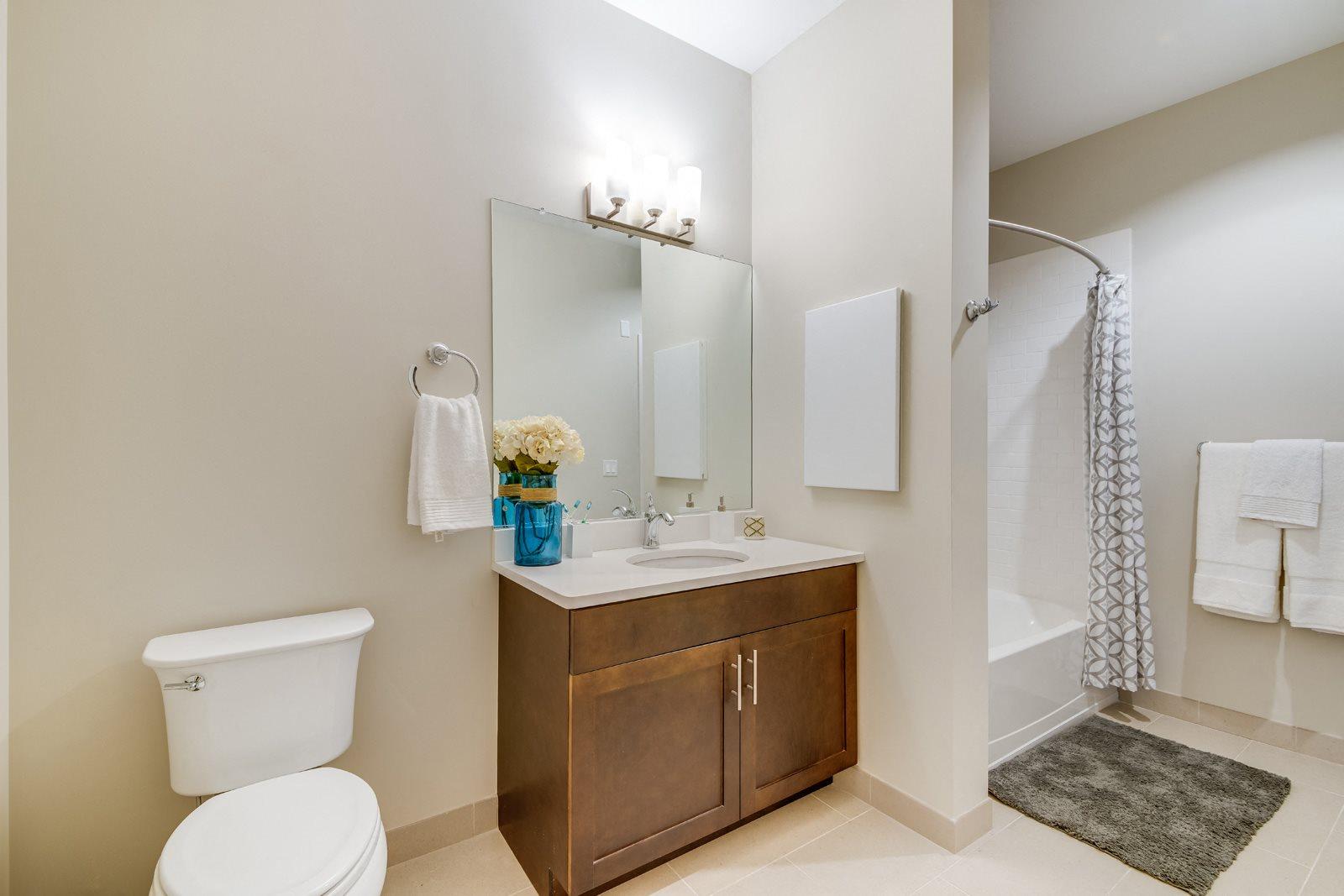 Spacious Bathrooms at Twenty50 by Windsor, 2050 Central Road, NJ