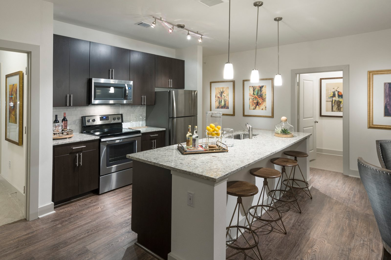 Upscale Stainless Steel Appliances at Windsor Lantana Hills, 78735, TX