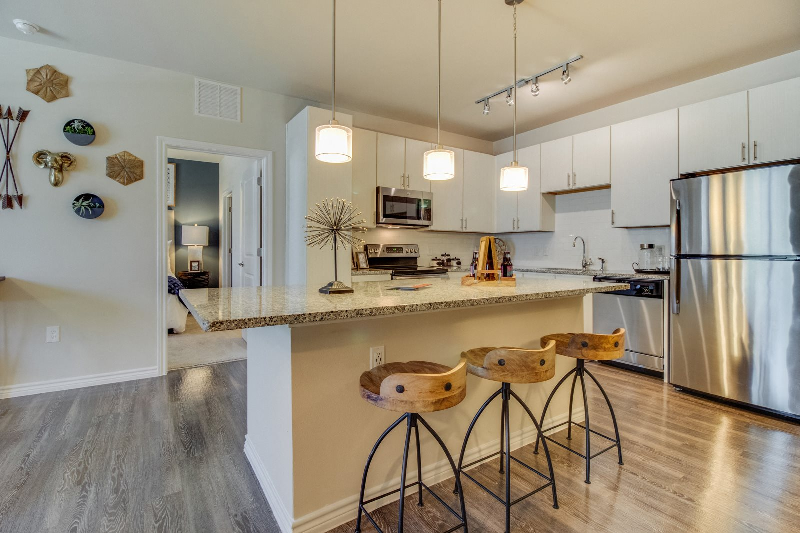 Gourmet Kitchens with Stainless Steel Appliances at Windsor Republic Place, 5708 W Parmer Lane, Austin