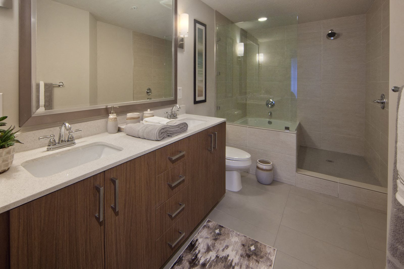 Spa-Inspired Bathrooms at Windsor at Doral, 4401 NW 87th Avenue, FL