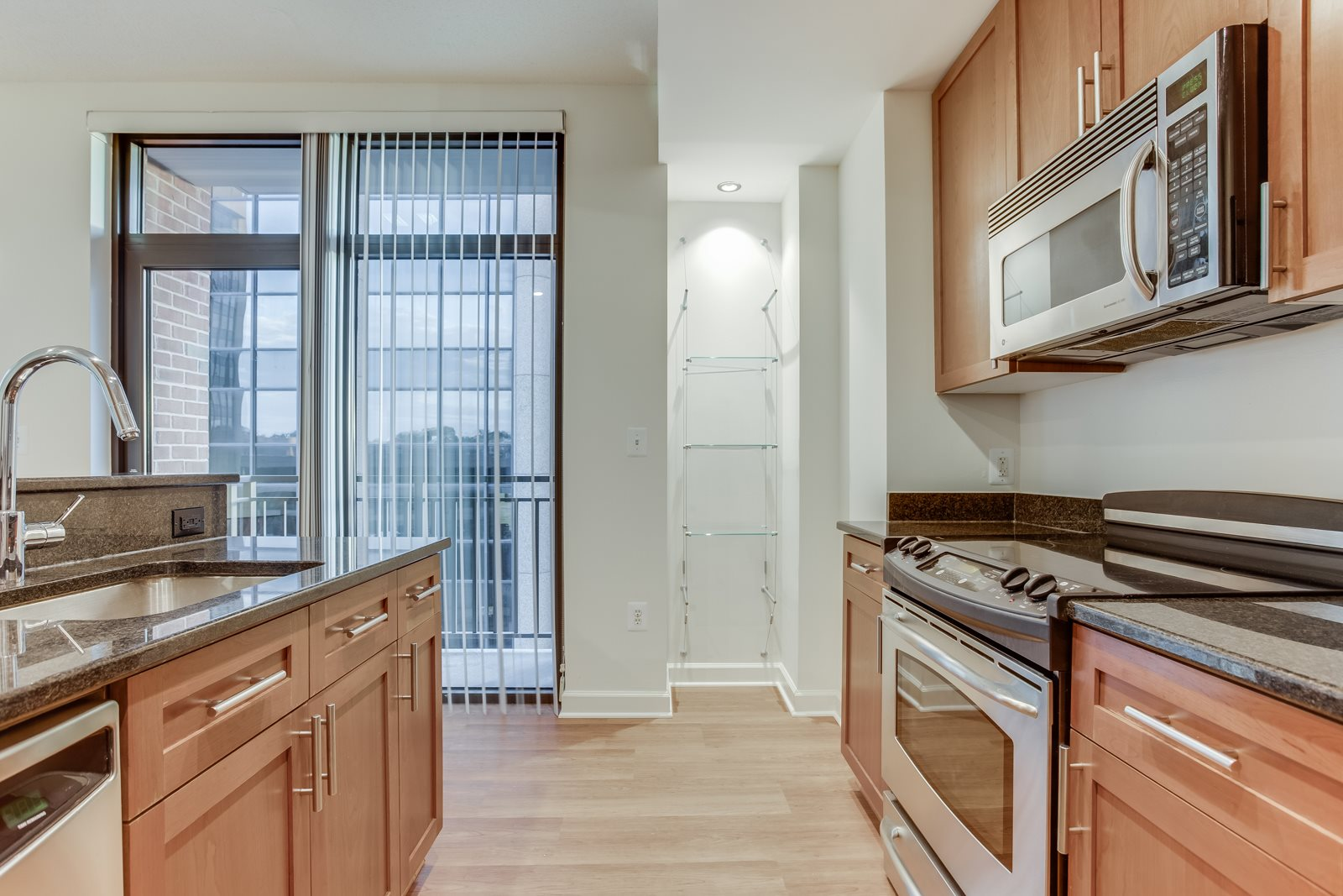 Private Balconies in Select Apartments at Halstead Tower by Windsor, Virginia, 22302