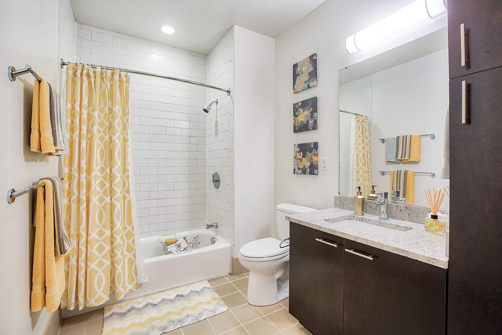 Spa-Inspired Bathrooms with Abundant Storage Space at Windsor at Maxwells Green, 1 Maxwells Green, Somerville