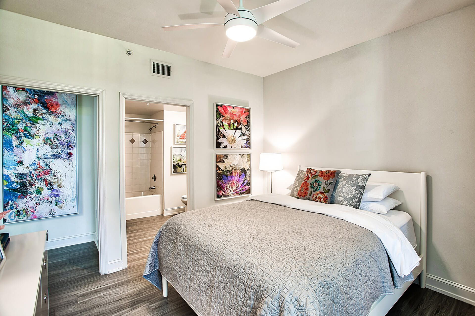 Master bedroom, at Windsor at Miramar, Miramar, Florida