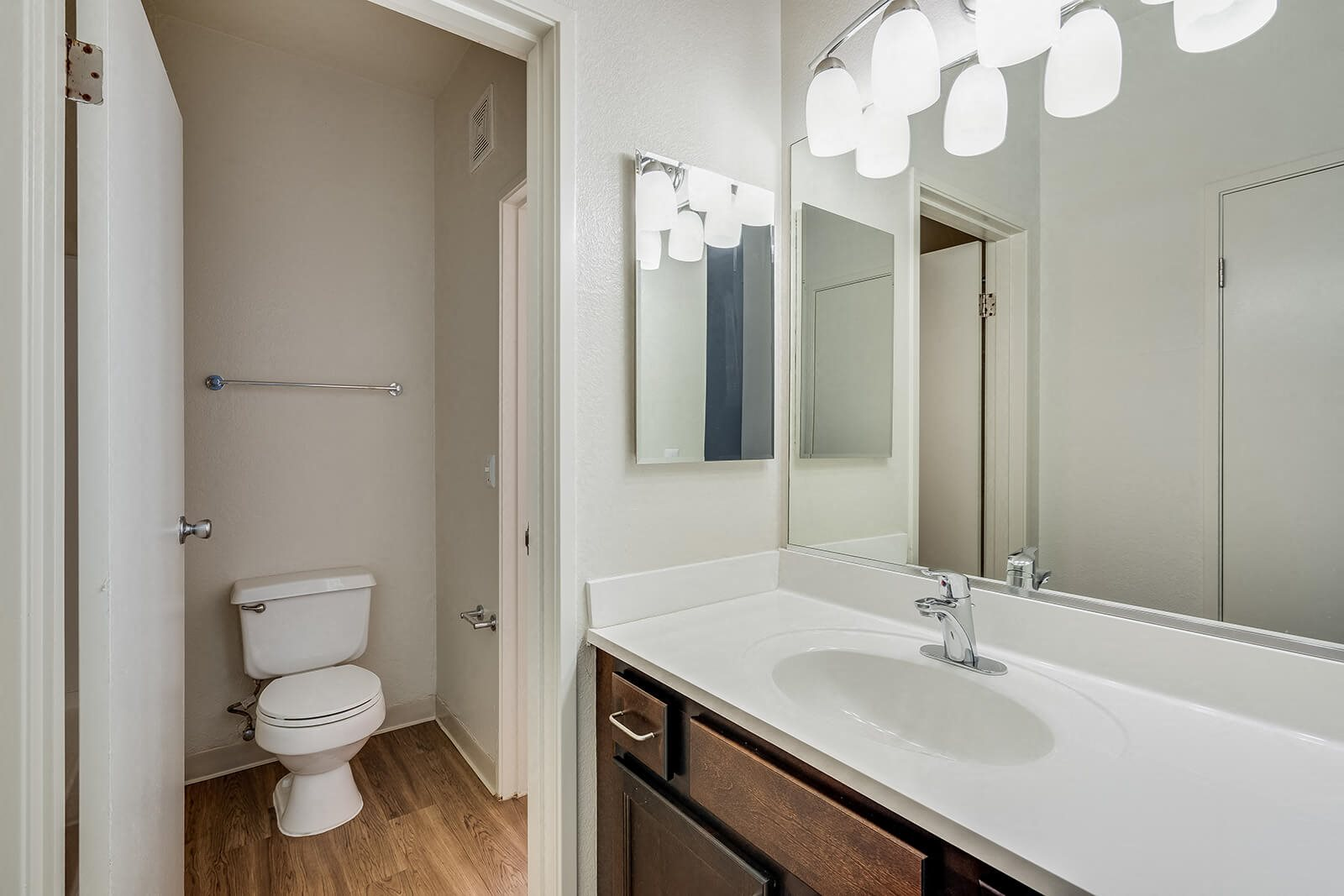 Upgraded Bathroom at Mission Pointe by Windsor, 1063 Morse Avenue, CA