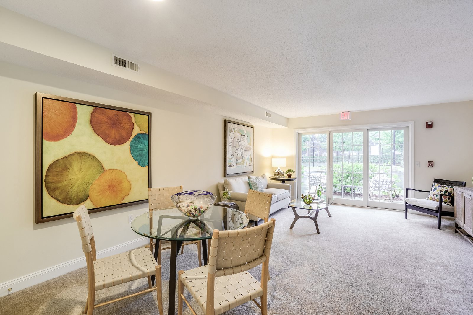 Open Floor Plans with Large Windows at Windsor Ridge at Westborough, 1 Windsor Ridge Drive, MA