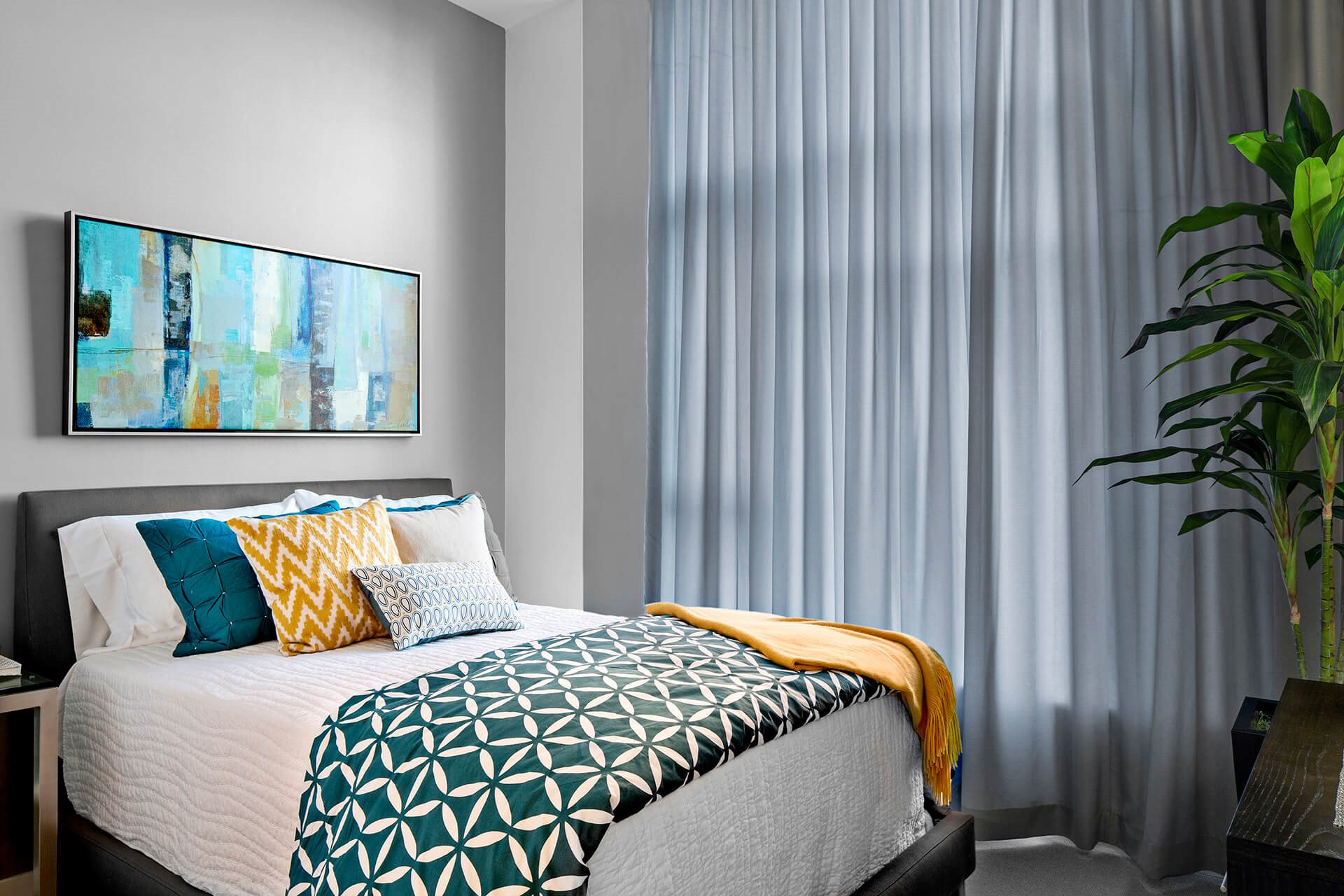 Sleek Interior Finishes at Waterside Place by Windsor, Boston, MA