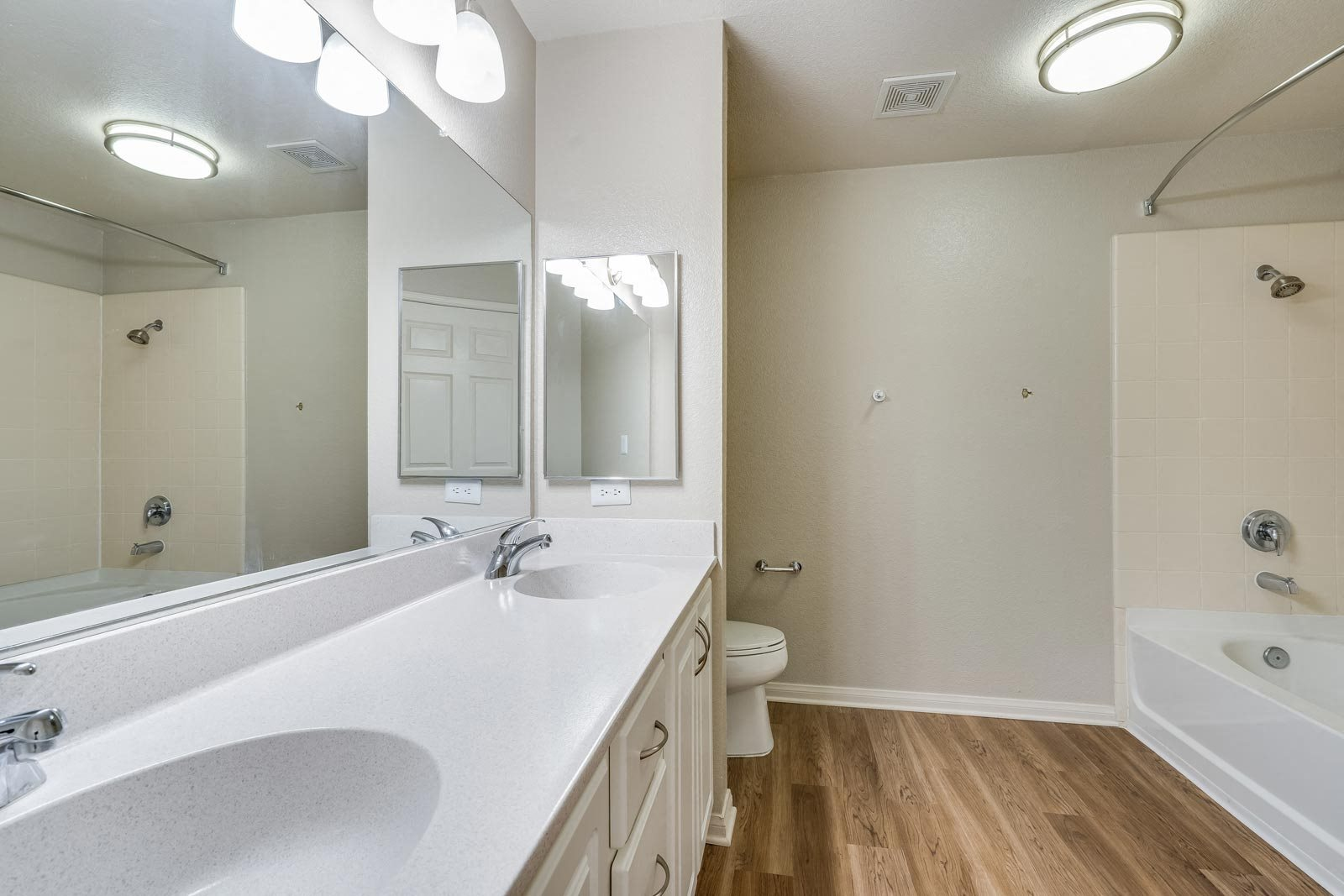Renovated Bathrooms with New Flooring and Fixtures at Windsor at Redwood Creek, 600 Rohnert Park Expressway West, CA