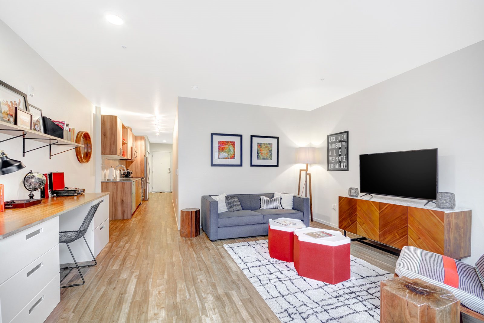 Flexible Living Spaces at The Whittaker, Seattle, 98116