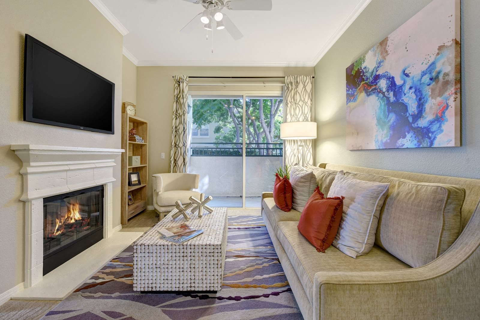 Gas Fireplaces in Select Apartments at Windsor at Aviara, 92011, California