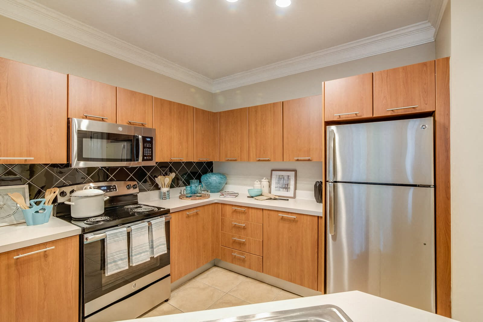 Ample Storage in Kitchens at Windsor at Contee Crossing, Laurel, Maryland