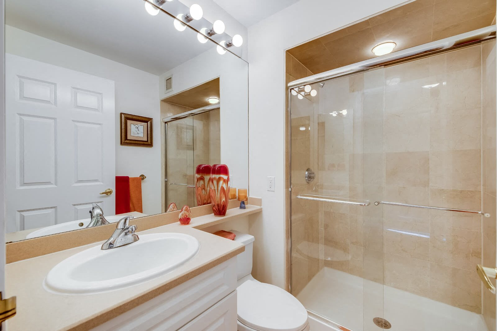 Spa-Inspired Bathrooms at Windsor at Mariners, 07020, NJ