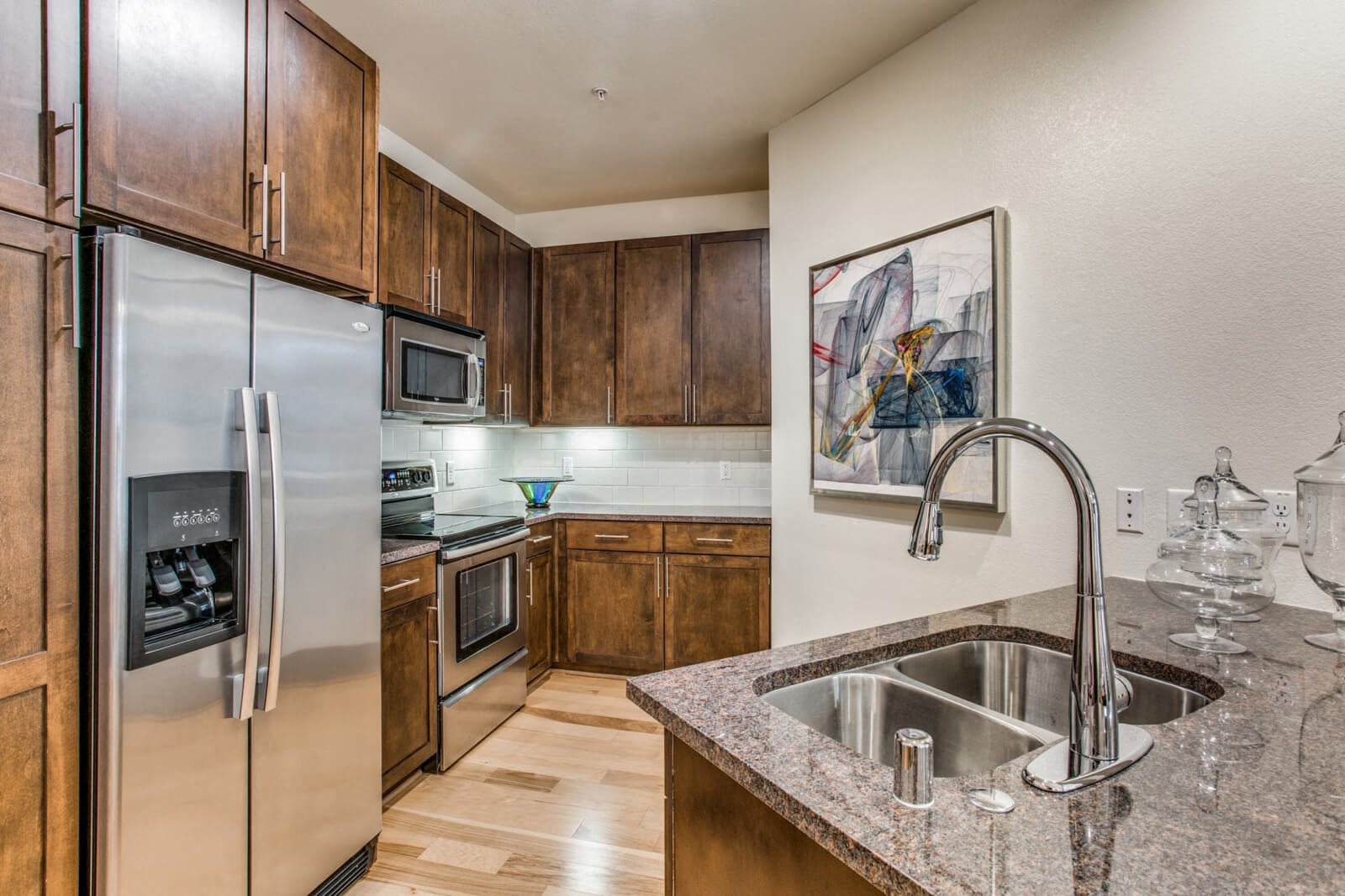 Granite Countertops at The Monterey by Windsor, Texas, 75204