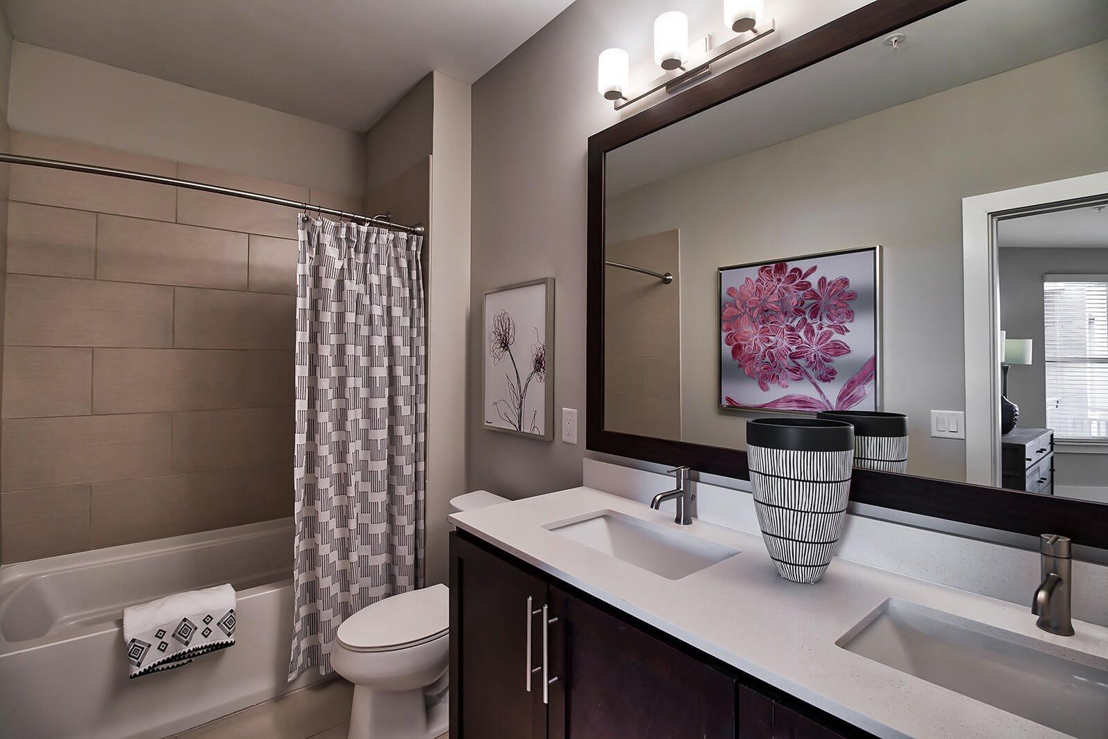 Dual Vanities and Large Soaking Tubs at Morningside Atlanta by Windsor, Atlanta, GA