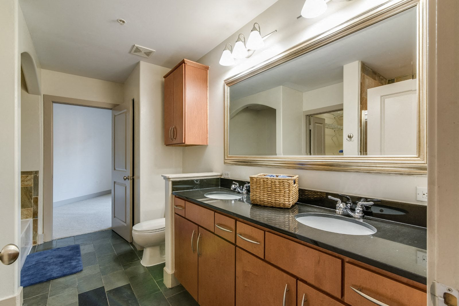 Dual Vanities Available at Crescent at Fells Point by Windsor, 951 Fell Street, MD