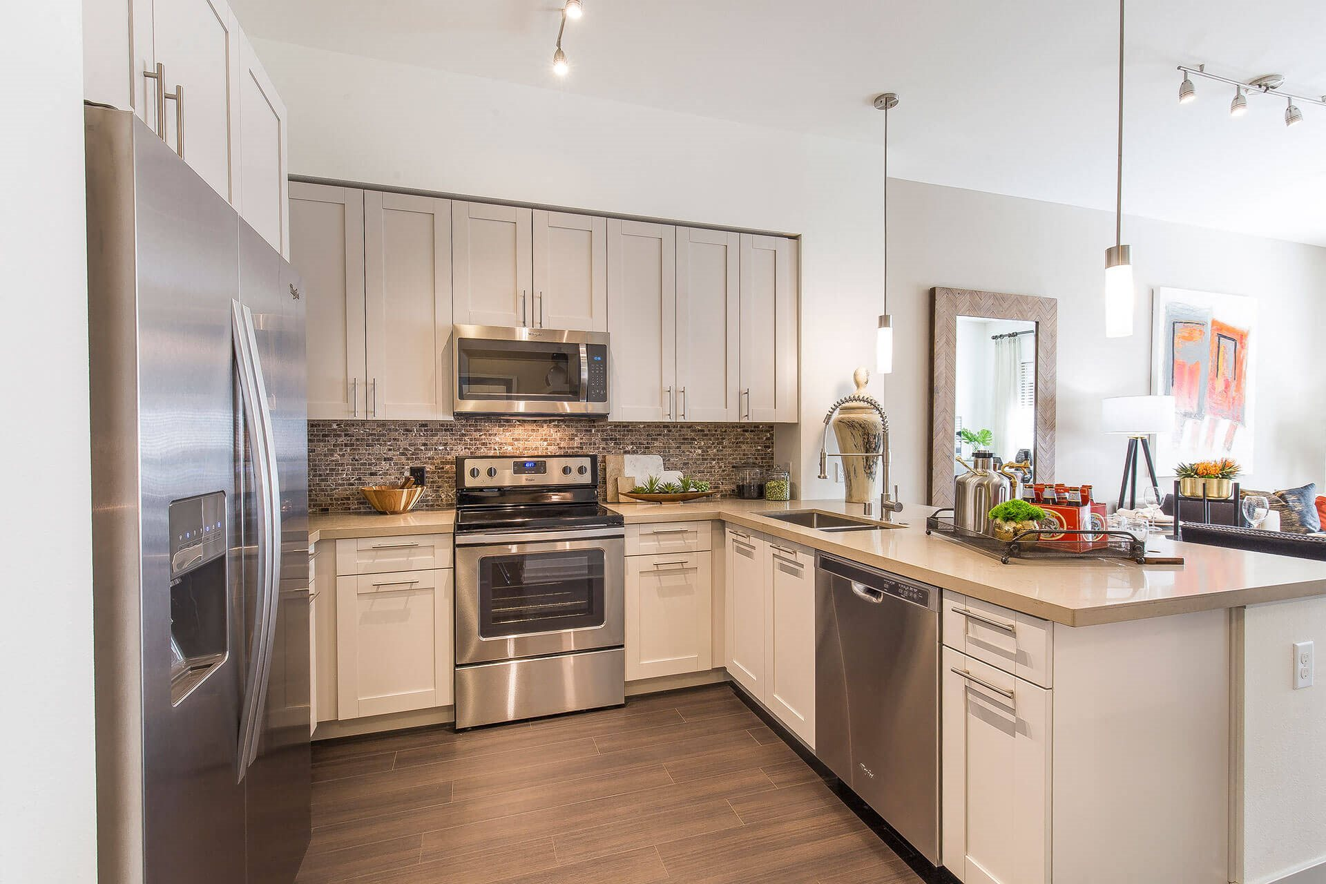 Spacious kitchen islands, at Cannery Park by Windsor, San Jose, 95112
