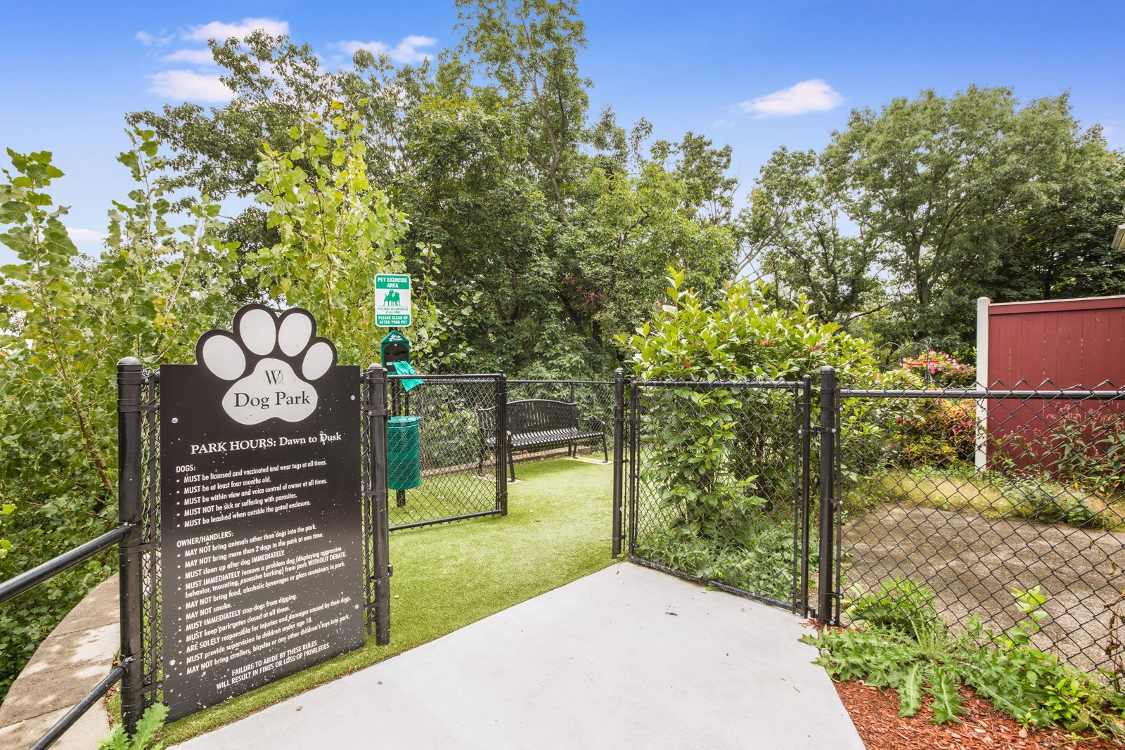 Dog Park at Windsor Village at Waltham, Waltham, 02452