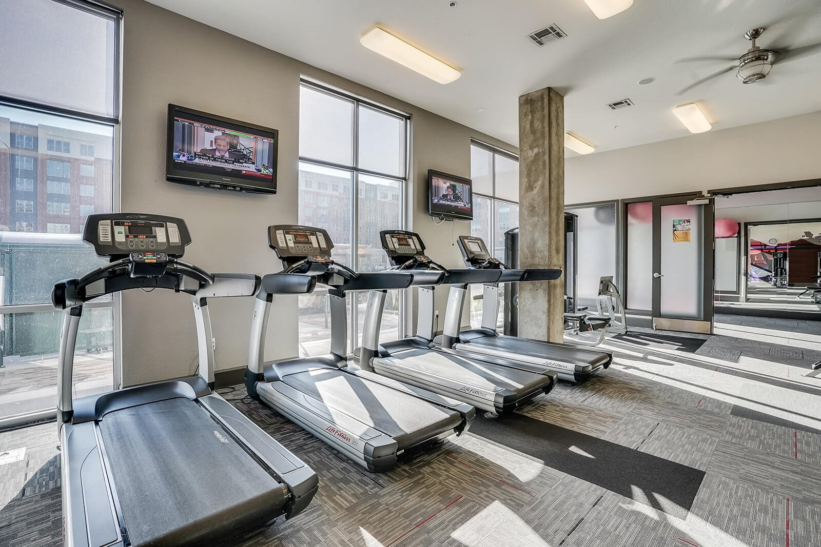 Cardio Equipment in Fitness Center at Windsor at Broadway Station, 80210, CO