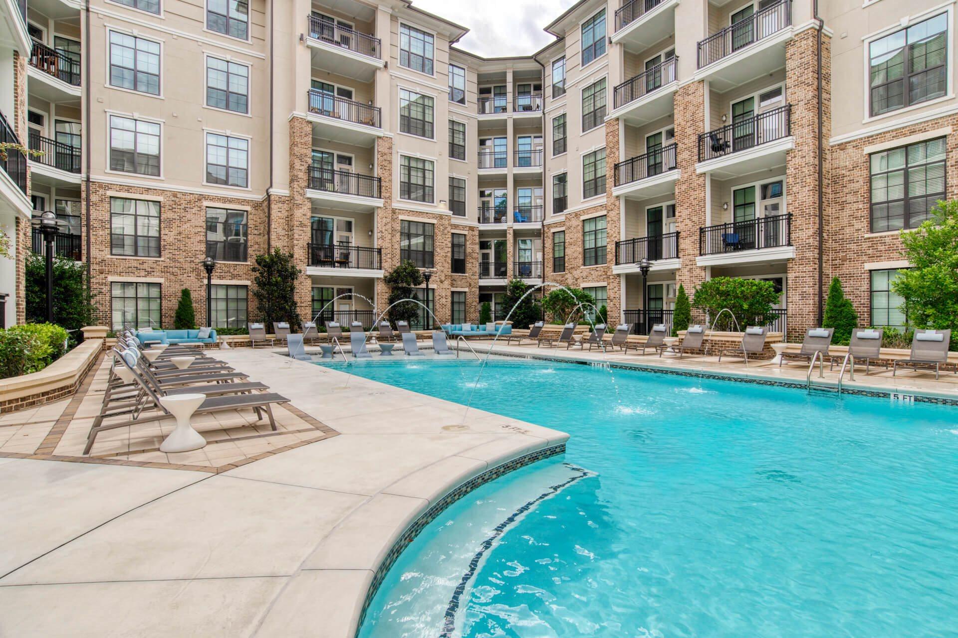 Pristine Swimming Pool at Windsor Chastain, 255 Franklin Rd, GA